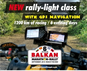 GPS Category in Balkan Marathon Rally