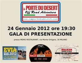 "Presentation of ""Balkan Marathon Rally 2012"" in Italy"